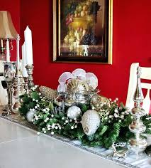 table christmas centerpieces christmas dining room table decorations cafedream info