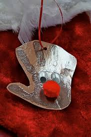 print reindeer ornament easy and so ideas for