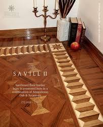 the savill ii hardwood floor border inlay gb 54 1 manufactured