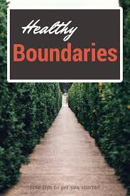 healthy boundaries first steps this crazy whole life