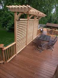 Privacy Walls For Patios by Carpentry Arbors And Fences For Landscaping Growing Image