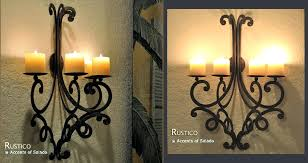 Outdoor Candle Wall Sconces with Sconce Large Outdoor Candle Wall Sconces Tuscan Wall Decor Giant