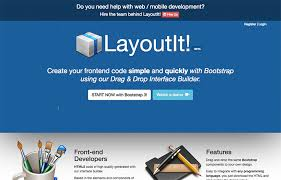 layoutit video best bootstrap html5 page builders and template generators
