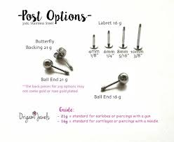 post back earring cz bar earrings origami jewels