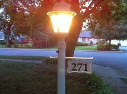 light post with address sign 14 best lighted house numbers images on pinterest house numbers