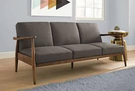 Mid Century Modern Style Sofa Alluring Mid Century Modern Sofa In Ideas Look Home