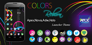 download themes holo launcher free colors reborn launcher theme apex nova adw holo android