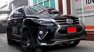 toyota suv all new 2016 toyota fortuner family suv youtube