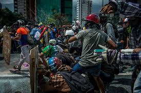 spirit halloween gas mask the battle for venezuela through a lens helmet and gas mask