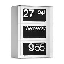 Design Clock by Solari Wall Clock White Moma Design Store