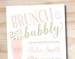 bridal shower brunch invitations brunch and bubbly bridal shower invitation confetti glitter