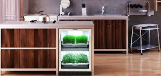 indoor kitchen kitchen another modern and sophisticated urbancultivator for herbs