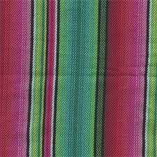 Striped Drapery Fabric Woven Stripe Tms 003 Fuschia Green Cotton Stripe Drapery Fabric