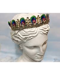 peacock headband amazing deal on peacock crown gold embroidery headband women