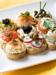 traditional canapes canapes suggestions and recipes