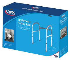 amazon com carex health brands bathroom safety rail health