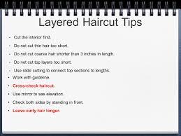 interior layers haircut haircutting ch ppt video online download
