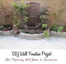 28 amazing diy outdoor wall fountains pixelmari com
