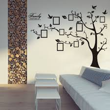 family tree wall decal sticker photo frame living room decor ideas