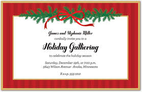 christmas brunch invitations christmas bough invitations christmas party invitations 18360