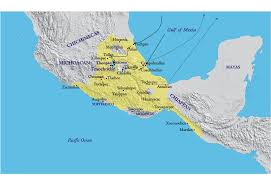Mexico On A Map by First Mesoamerican War Byzantine Glory Alternative History