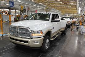 Dodge 3500 Truck Specs - first 2016 ram 3500 hd rolls off the line job 1 preview the