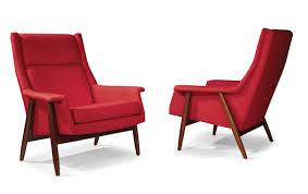 thayer coggin 1278 103 laid back lounge chair by milo baughman shown in a