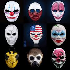 Payday Halloween Costume U0026d Payday Mask Heist Joker Costume Cosplay Prop Gift Game Board