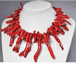 natural coral necklace images Rare natural red coral necklace 18inch african costume coral beads jpg