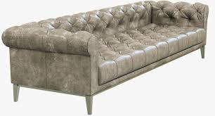 Chesterfield Leather Sofa Bed Restoration Hardware Italia Chesterfield Leather Sofa 3d Model Max