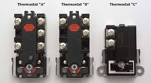 electro mechanical thermostats for electric water heaters