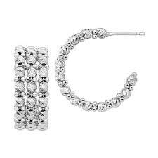 Beaded Chandelier Clip Earrings White Gold Earrings Costco