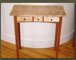 Hallway Table With Drawers Hall Table Console Mahogany And Red Birch Entry Hall Table