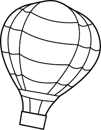 air balloon free coloring pages on art coloring pages