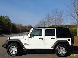 sport jeep 2016 2016 bright white jeep wrangler unlimited sport 4x4 111213290