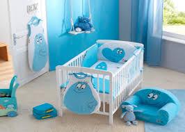 chambres bébé garçon deco bleu pour chambre bebe mobilier décoration