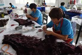 hair trade inside china s human hair factory where tailor made wigs are made