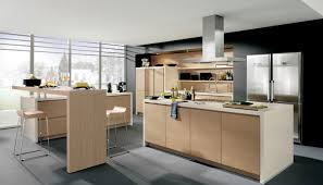 kitchen alno kitchen features double island with rich wooden