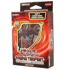 yu gi oh cards raging tempest special edition 3 boosters u0026 2