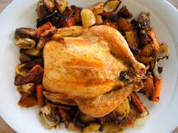 Roasted Vegetables Ina Garten by Roasted Chicken And Vegetables Nourishedpeach