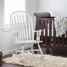 White Wooden Rocking Chair Nursery Bed Bath Remarkable Rocking Chair For Nursery 120now