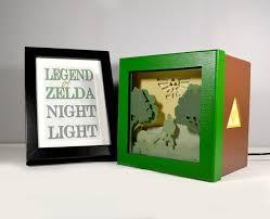 zelda night light unique special gift geek night light