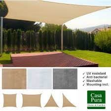 Sail Cover For Patio by Shade Sails Garden Structures U0026 Shade Garden U0026 Patio