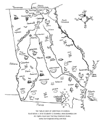 georgia map coloring page with coloring pages eson me