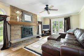 Living Room  Comely Entertainment Room L Shaped Curved Leather - Family room leather furniture
