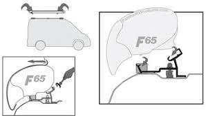 Fiamma F65 Awning Fiamma 98655 772 F65s Awning Adapter Bracket Mercedes Sprinter