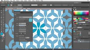 seamless pattern creator illustrator cs6 using the pattern options tool lynda com tutorial