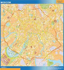 moscow map world our moscow wall map wall maps mapmakers offers poster laminated