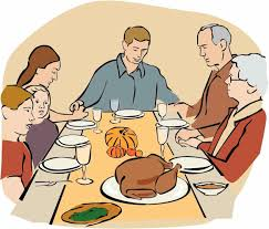 davis official the thanksgiving dinner clipart book by