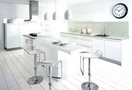 ilot cuisine blanc luminaire ilot de cuisine blanc acclairage arlot eclairage cuisine